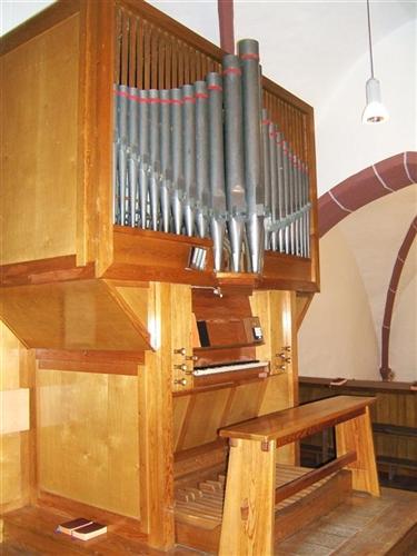 Orgel - Gesamtansicht