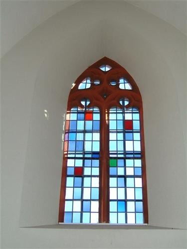 Fenster mittleres Joch