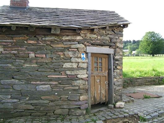 Fassade mit Tür