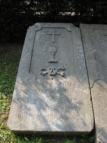 Grabplatte von Wilhelmus Dalleur