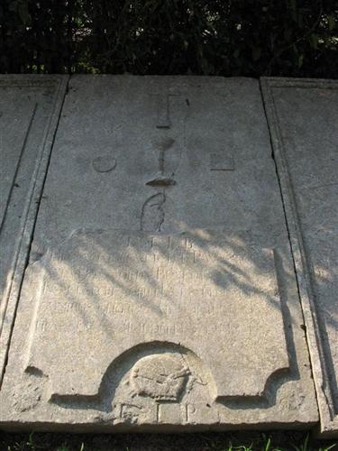 Grabplatte des P. Wintgens