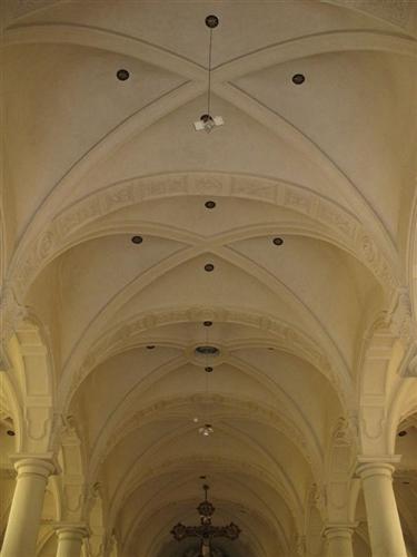 südliches Seitenschiff: Gewölbe
