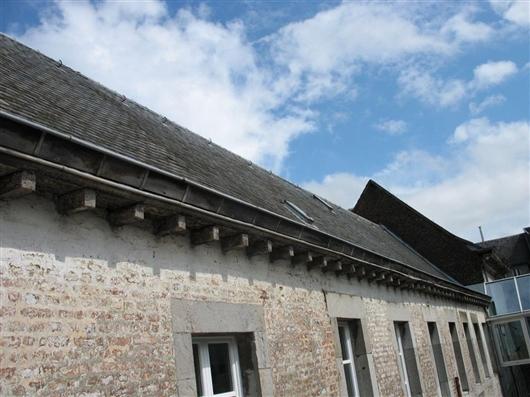Südwestflügel: Dach