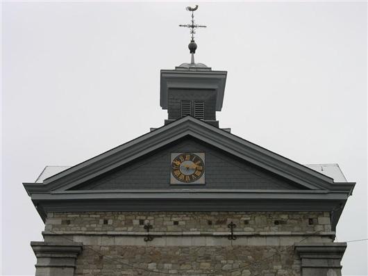 Dach des Westbaus