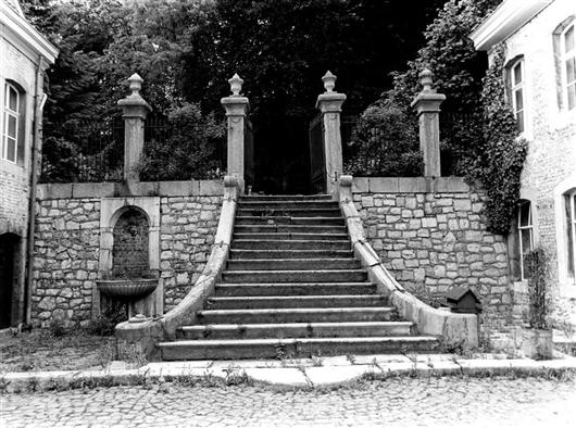 Alte Ansicht, Treppe