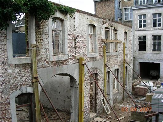 Umbauarbeiten 2009