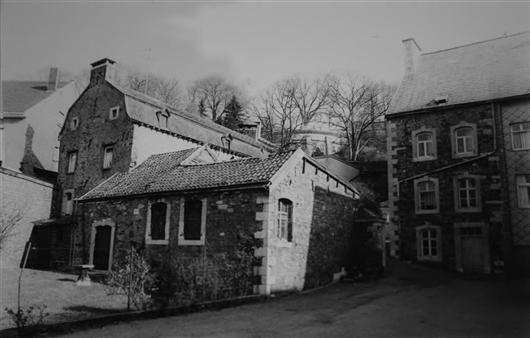 Süd-Westfassade, 1980