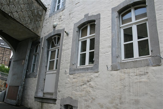 Eingangstor, Hofeinfahrt, von innen