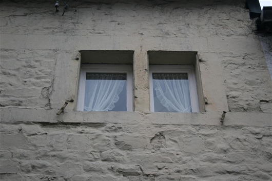 Fenster, Vorderfassade