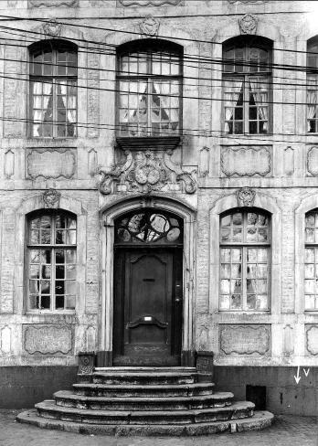 Alte Ansicht, Eingangstür
