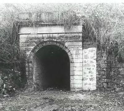 Alte Ansicht, Eingang