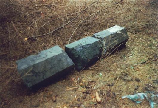 B-P Grenzstein Nr. 91