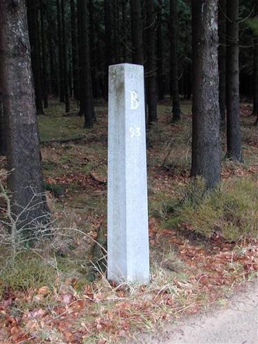 B-P Grenzstein Nr. 93