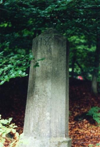 B-P Grenzstein Nr. 158