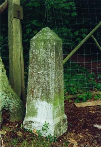 B-P Grenzstein Nr. 162