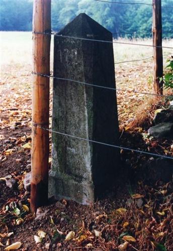 B-P Grenzstein Nr. 172