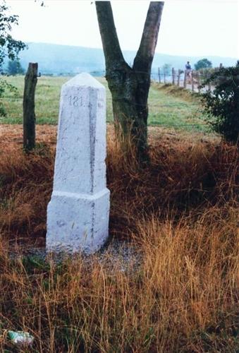 B-P Grenzstein Nr. 181