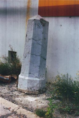 B-P Grenzstein Nr. 186