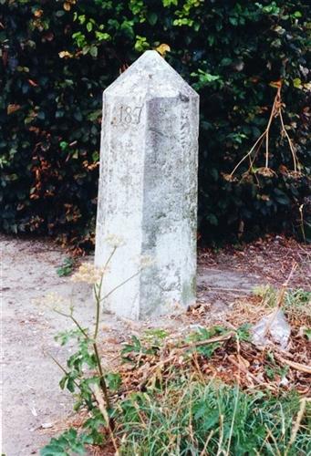 B-P Grenzstein Nr. 187