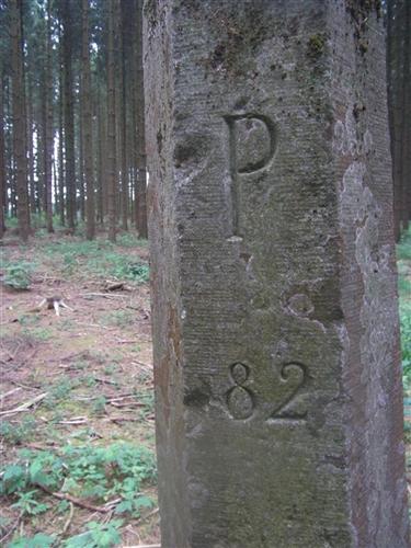 B-P Grenzstein Nr. 82