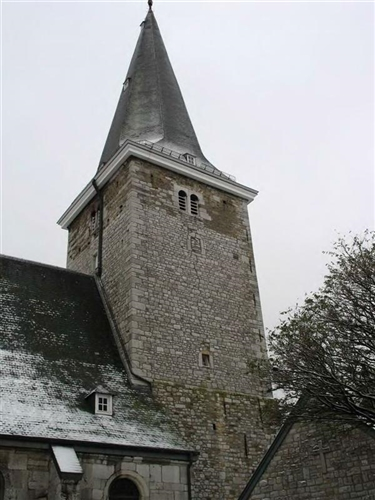 Turmwand aus Blausteinquadern