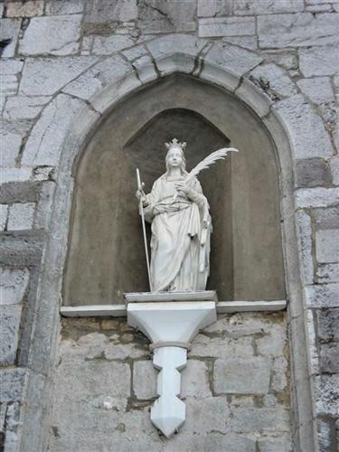 Statue der hl. Katharina