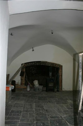 Kreuzgratgewölbe, Bergfried