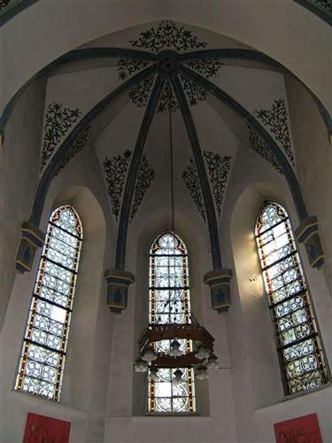 Gewölbe, Chor