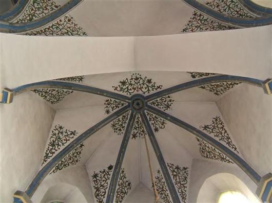 Kreuzrippengewölbe, Chor