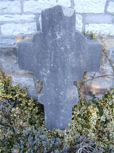 Grabkreuz der Maria Steinmeker