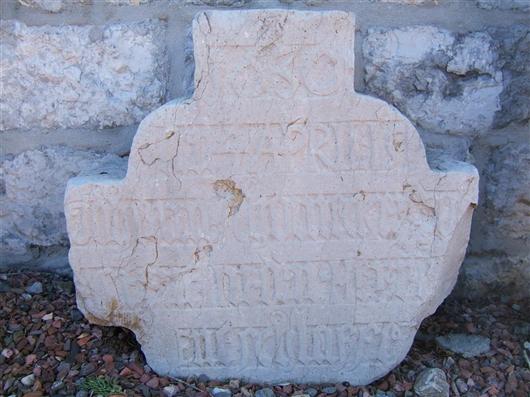 Grabkreuz des Johann Schomecker