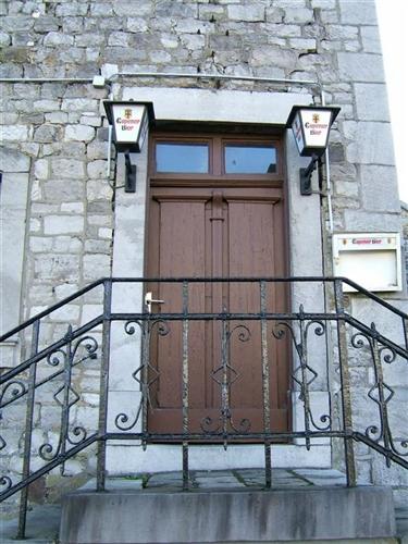 Vorderfassade, Eingangstür
