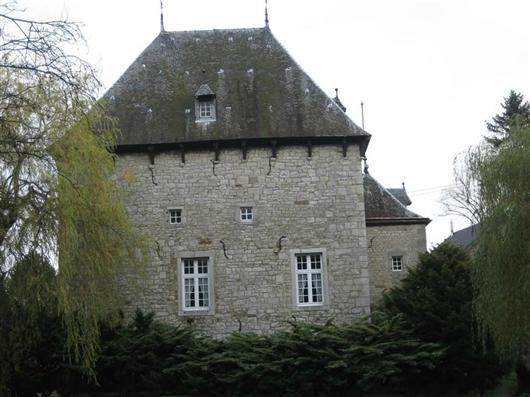 Herrenhaus, Westfassade