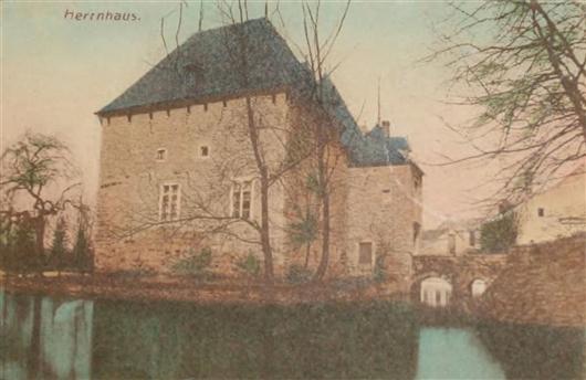 Herrenhaus, vor 1945