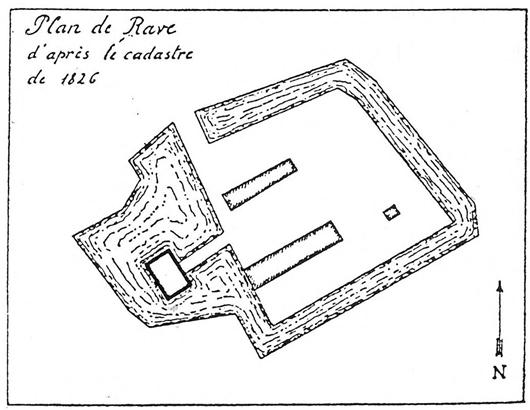Liegeplan nach dem Urhandriß von 1826