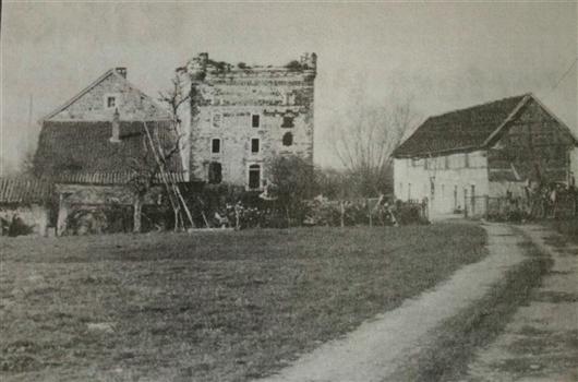 Bergfried, vor 1945