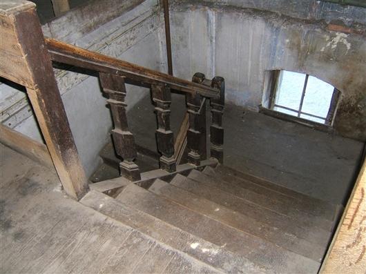 Holztreppe