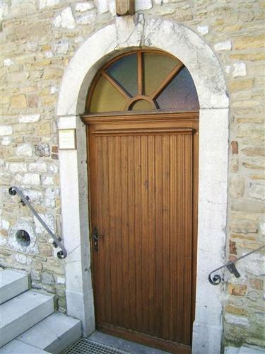 Westfassade Eingangstür