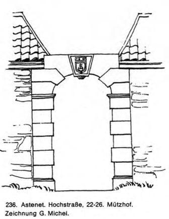 Tor mit Wappenstein