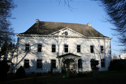 Herrenhaus, Rückfassade