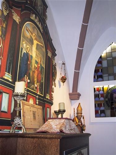 Ausstellungsraum zur Kirchengeschichte