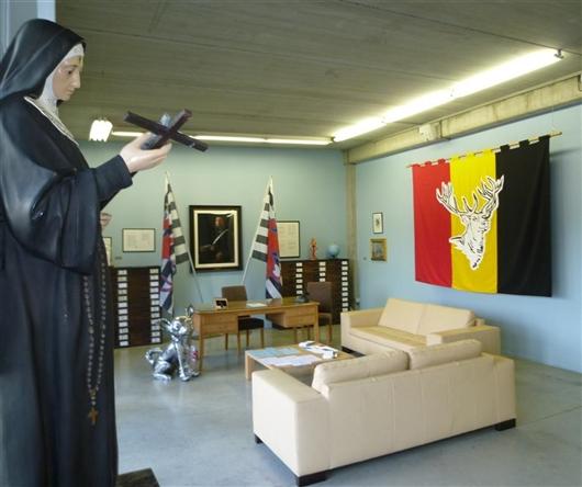 Ein Blick auf die Dauerausstellung des ikob