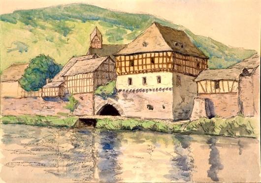 Altes Rathaus in Dausenau