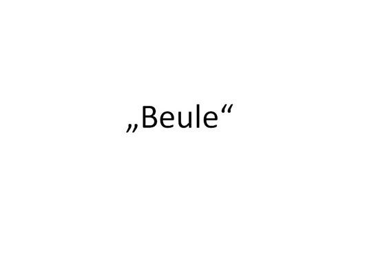 Beule