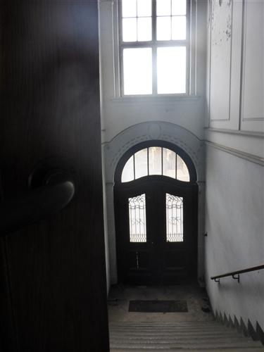 Eingangstüre Verwaltungstrakt