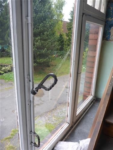 Fenster mit Griff