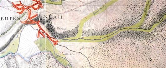 Ferraris Karte von 1777