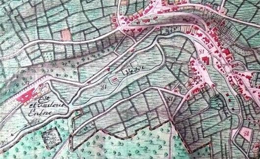 Tranchot v. Müffling Karte von 1803-1820