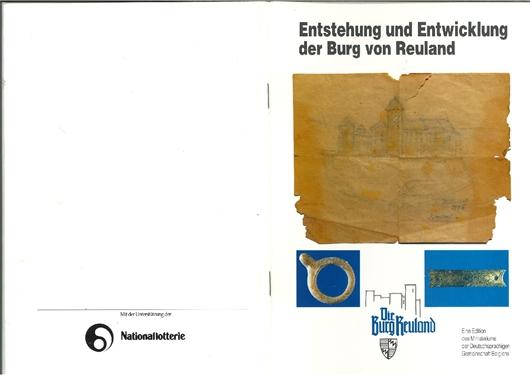 Entstehung und Entwicklung der Burg von Burg-Reuland