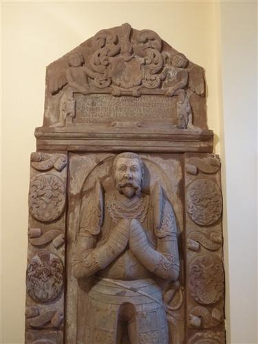 Grabplatte des Johann Reinhard von Bulich